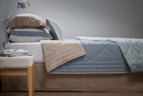 Cap top bedspread